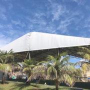 Aluguel de tenda galpão para eventos